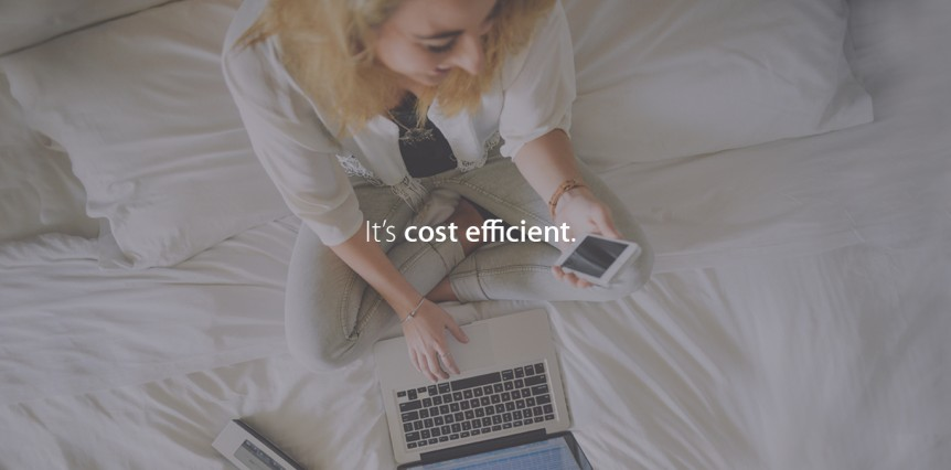 E-learning is cost efficient