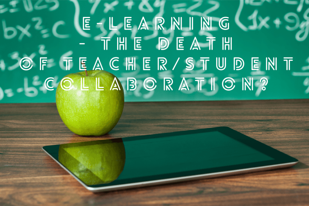 design 1024x683 - E-Learning - the death of teacher/student collaboration?
