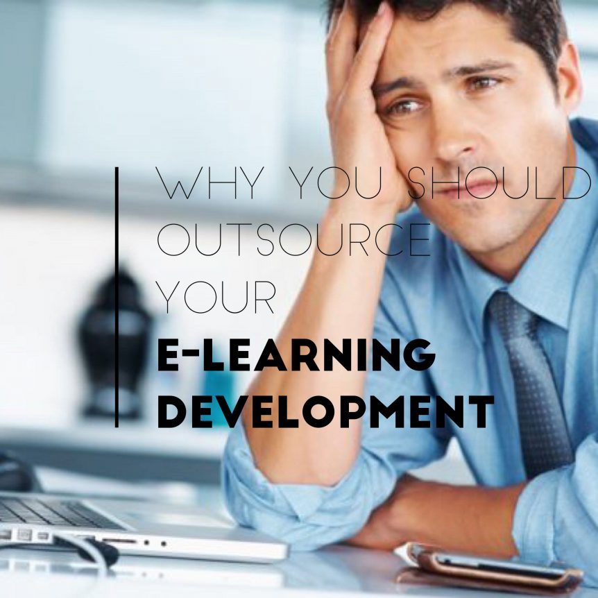 why you should outsource e-learning development