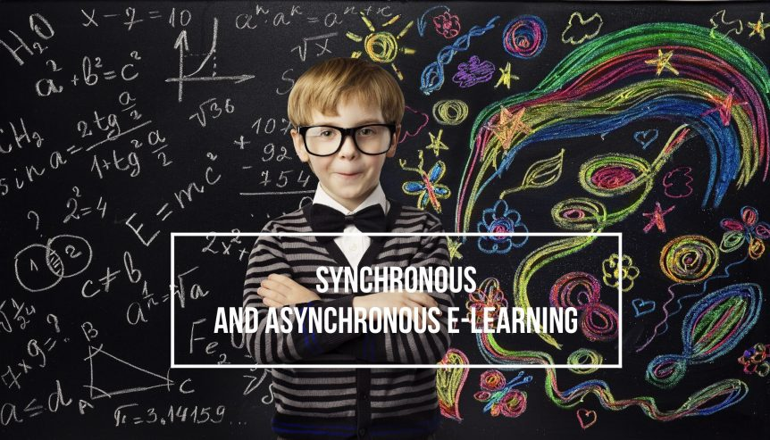 Synchronous and Asynchrnous E Learning 862x493 - Synchronous and Asynchronous E-Learning - What You Need to Know