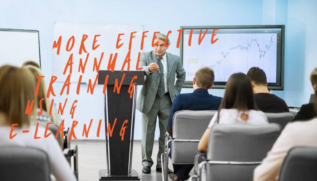 annual training elearning 1024x586 - How to Make Annual Training Effective With E-Learning