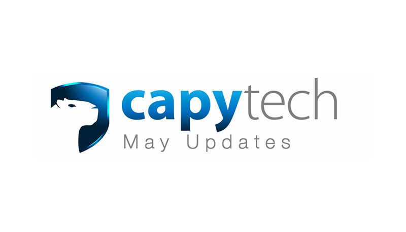 mayupdate - Capytech Updates - May 2017