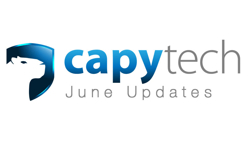 June Updates - Capytech Updates - June 2017