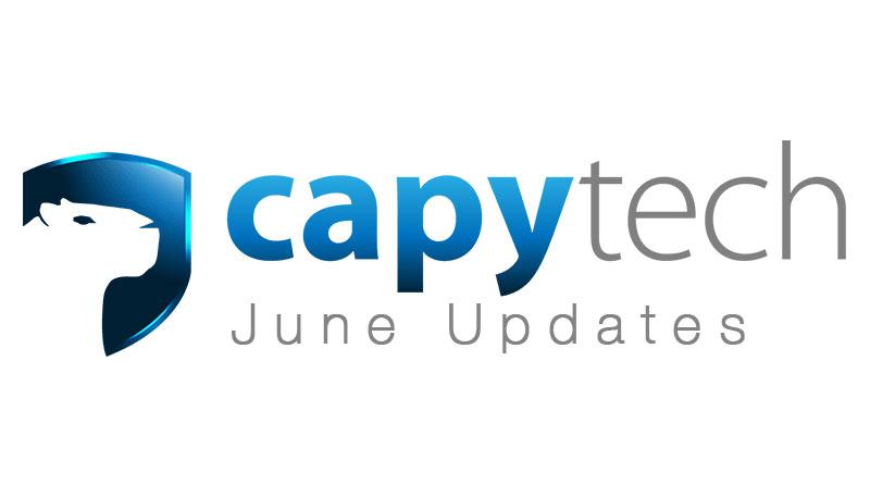 June Updates - Capytech Updates - June 2017