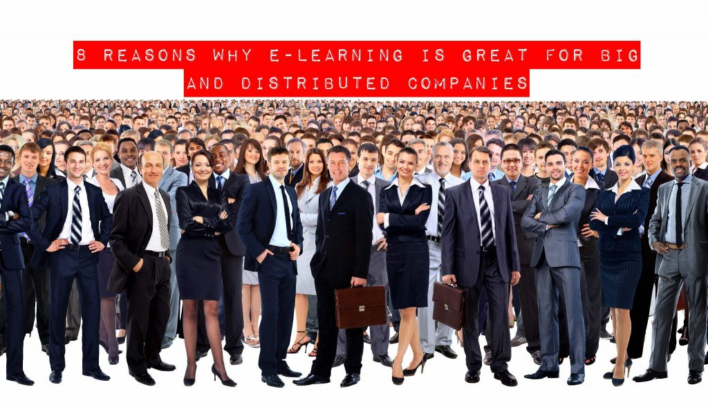 elearning large distribute companies