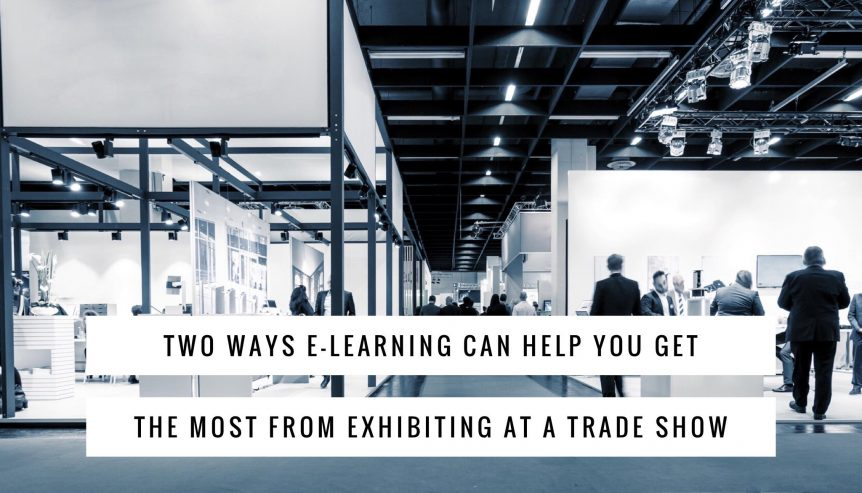 E-Learning atTrade Show