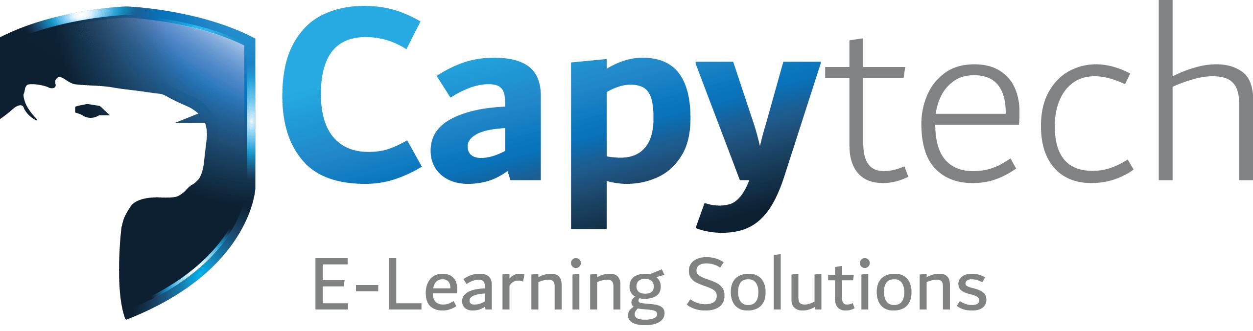CapytechLogoEng 1 min - E-learning Modules