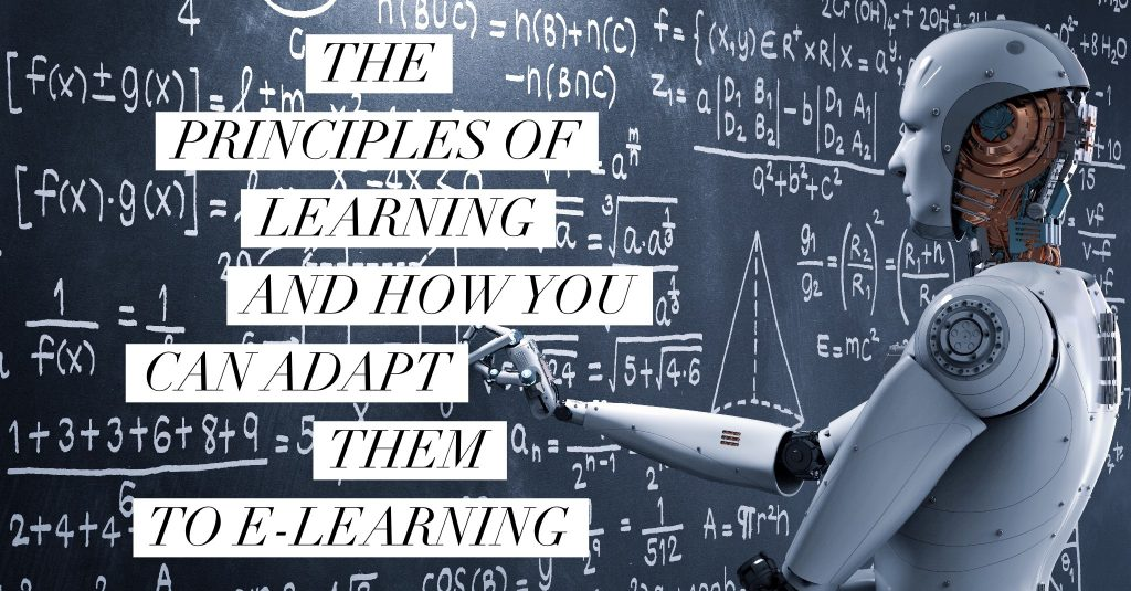 The Principles of Learning and How You Can Adapt Them to E-Learning