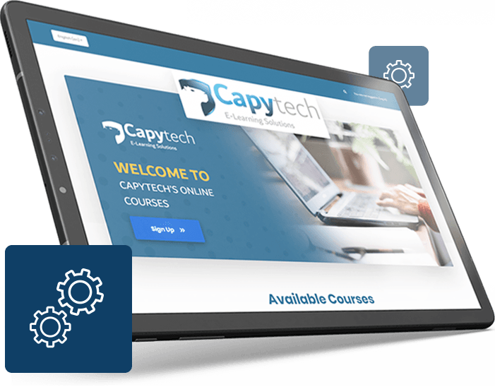 LMS tablet - Capytech