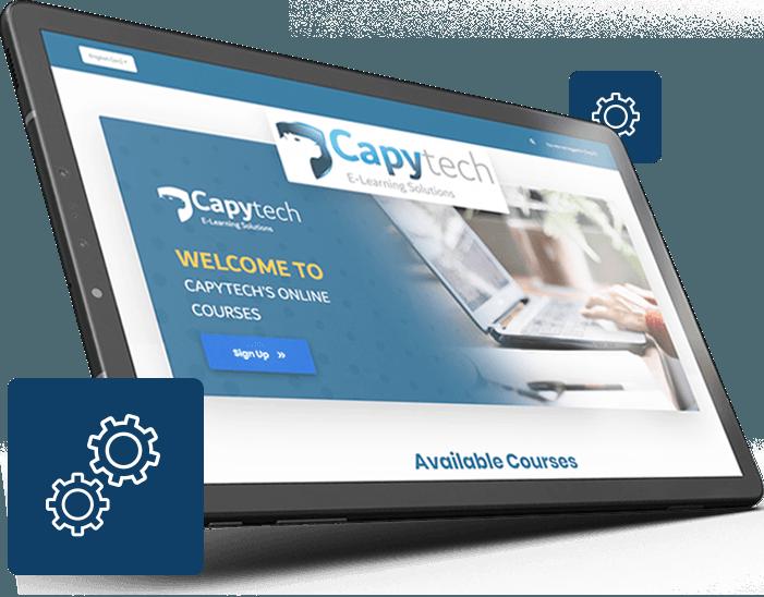 LMS tablet - Capytech Arabic