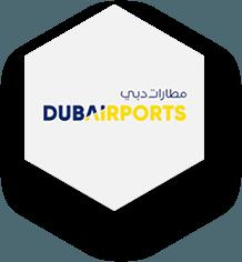 Logo dubaiairport - Capytech Arabic