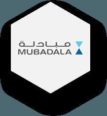 Logo mubadala - Capytech Arabic