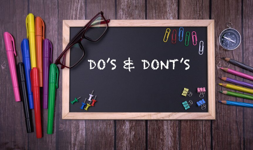 shutterstock 554852104 862x512 - 24 Do's and Don'ts for Creating E-Learning Courses